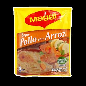 Sopa pollo